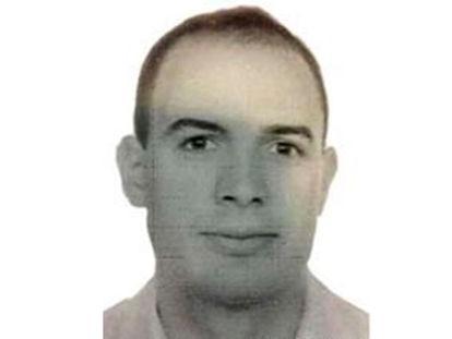 Imagen de archivo del etarra David Urdín Pérez.