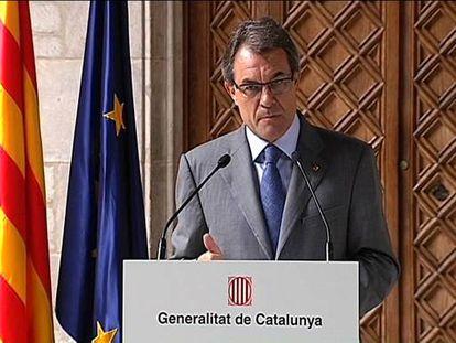Mas lanza el órdago del Estado catalán