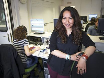 María Alejandra Torres Reyes, estudiante de la Escuela de Periodismo UAM-EL PAÍS.