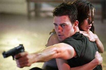 Tom Cruise y Michelle Monaghan, en una imagen de <i>Misión imposible III.</i>