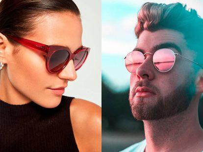 Marcas como Hawkers, Polaroid o Vans tienen gafas de sol modernas por menos de 40 euros.
