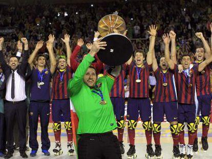Aitor Egurrola, capitán del Barcelona.