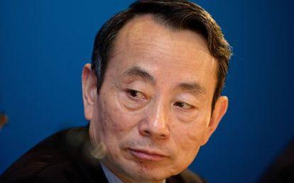 Jiang Jiemin, expresidente de la mayor petrolera china, en una foto de 2012.