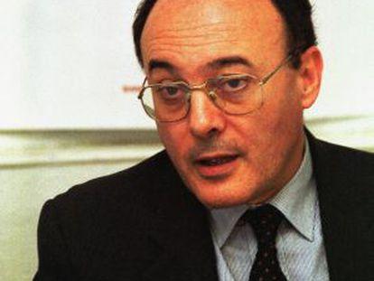 Luis María Linde, nuevo gobernador, en una imagen de archivo