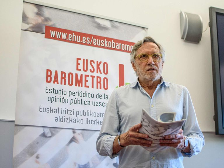 El director del Euskobarómetro, Francisco José Llera.
