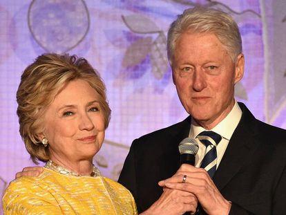 Hillary y Blill Clinton, el pasado mayo en Nueva York.