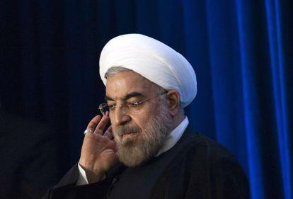 El presidente de Irán, Hassan Rohaní.