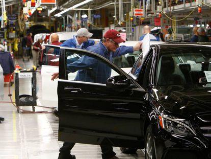 Una fábrica de Mercedes-Benz en Estados Unidos