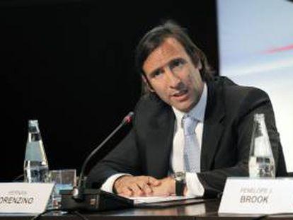 En la imagen, el ministro argentino de Economía, Hernán Lorenzino. EFE/Archivo