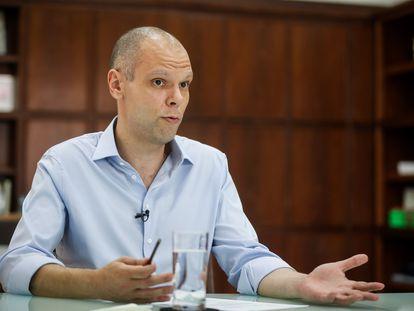 El alcalde de São Paulo, Bruno Covas, en octubre de 2020.