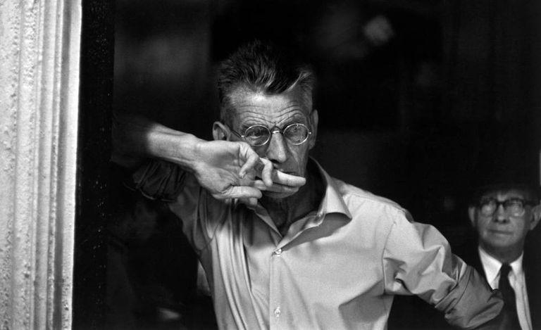 El dramaturgo irlandés Samuel Beckett, en 1964.