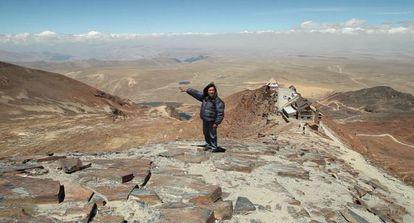 El glaciar de una montaña en Bolivia se ha derretido por completo