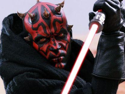 Pórtate bien o el señor del sable rojo se enfadará.