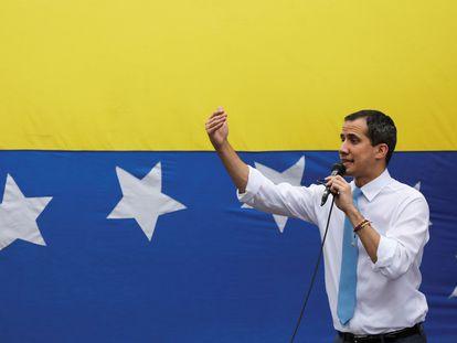 El líder de la oposición venezolana Juan Guaidó, en mayo pasado.