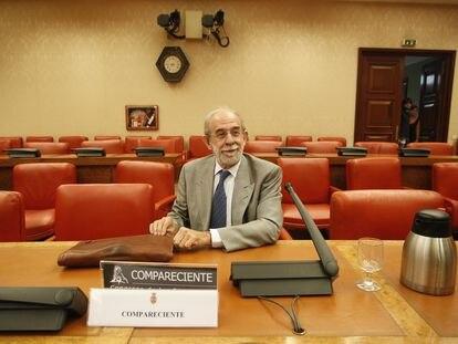 El magistrado del Tribunal Constitucional Fernando Valdés en 2012