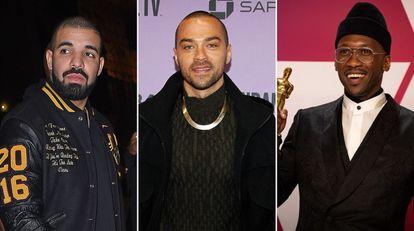 Drake, Jesse Williams y Mahershala Ali.