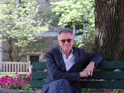 Martin Ravallion en el campus de Georgetown.