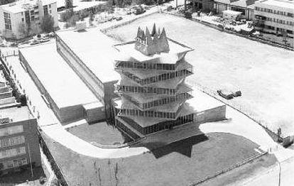 Panorámica de 'La Pagoda' antes de su derribo en 1999.