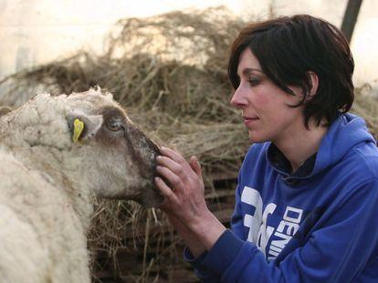 Stéphanie, en un momento de 'A Modern Shepherdess'.