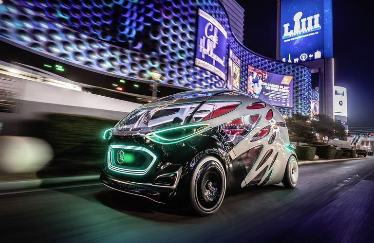 El prototipo Mercedes-Benz Vision URBANETIC
