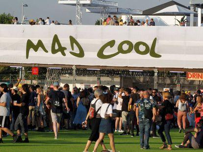 Ambiente en el Mad Cool, este jueves.