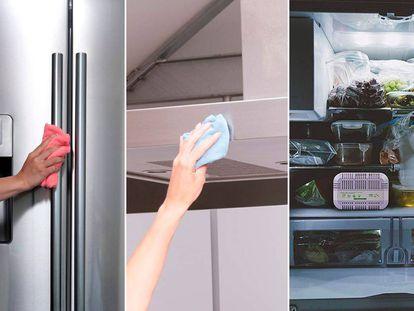 Elimina la suciedad y los malos olores de tus electrodomésticos con estos productos de limpieza.