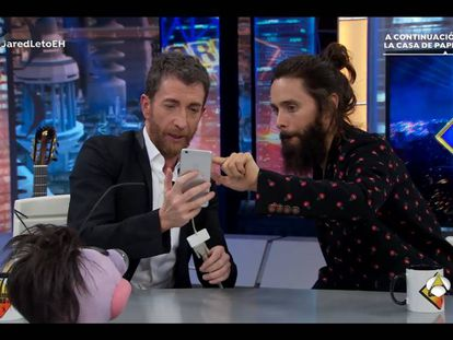 Jared Leto vs. Pablo Motos: la pesadilla de Twitter hecha realidad