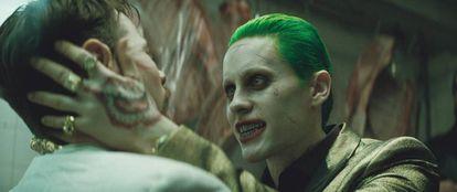 Fotograma de la película 'El escuadrón suicida' (2016), en la que Jared Leto interpreta a Joker.