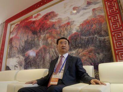 Wang Jianlin, el hombre más rico de China.