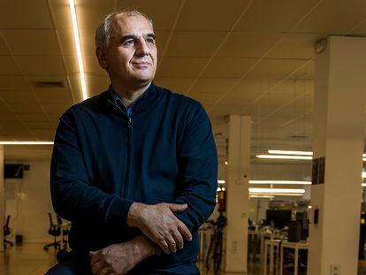 Carlos Barrabés en su empresa, en una foto de archivo.