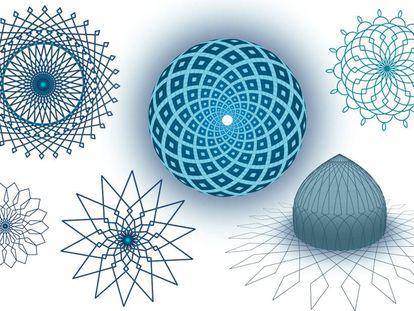 Varios de los diseños ideados por el iraní Mahdi Bahrami para su videojuego 'Engare'.