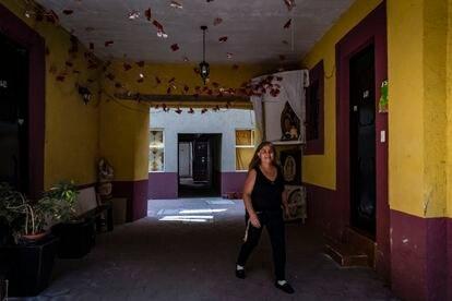 El interior de Ignacio Allende 46, en el Centro Histórico de la Ciudad de México.