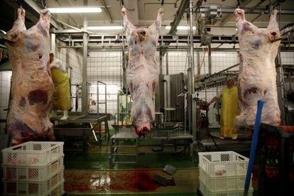Un matadero de Polonia que produce carne 'halal' y 'kosher', en 2013.