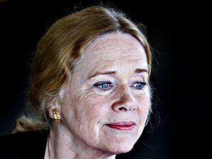 La actriz y directora de cine Liv Ullmann, en Oslo.