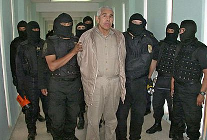 Rafael Caro Quintero en enero de 2005.