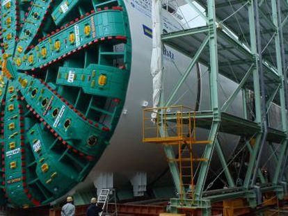 La tuneladora Bertha fabricada por ACS que excavará un túnel en EE. UU.