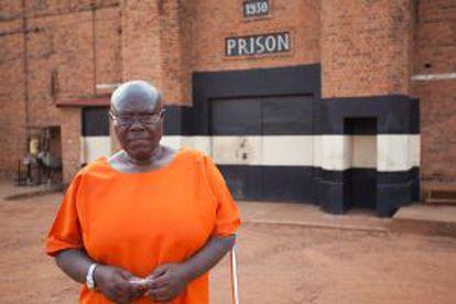 Valerie Bemeriki, locutora de la Radio de las Mil Colinas, en la prisión central de Kigali.