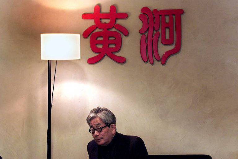 El Nobel japonés Kenzaburo Oé, en la Casa Asia.