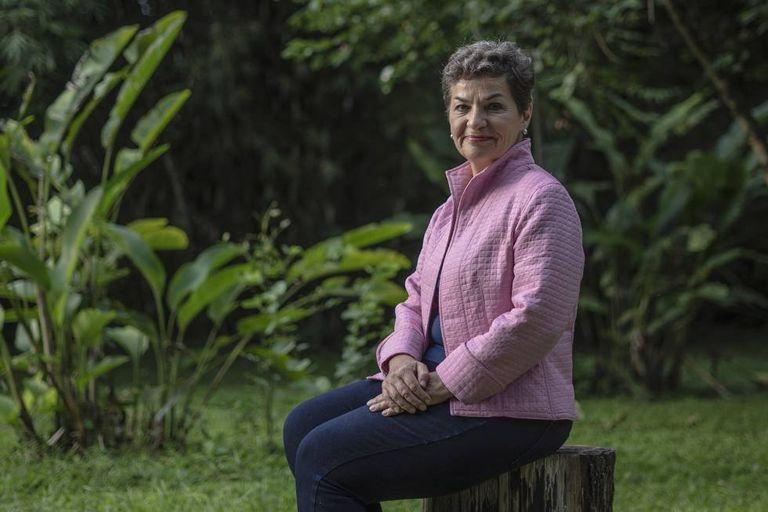 Christiana Figueres, en San José de Costa Rica, en 2019.