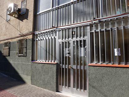 Bloque de viviendas, en la calle Herrerías número 8, donde ha muerto la víctima.