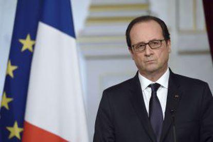 Hollande, en una rueda de prensa el pasado lunes.