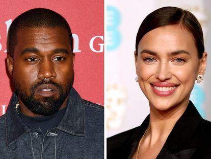 Kanye West e Irina Shayk.