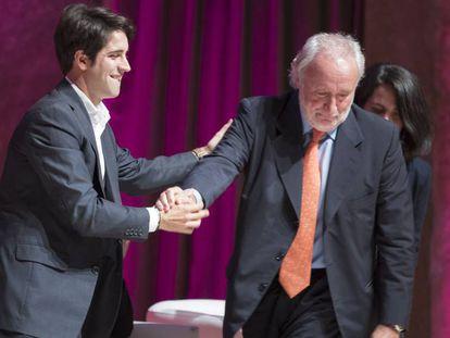 Roger Montañola y Antoni Fernández Teixidó