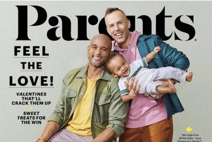 La portada de febrero de la revista Parents.