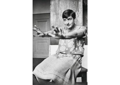 La fotógrafa Ellen Rosenberg, conocida como Ellen Auerbach, por su nombre de casada. |