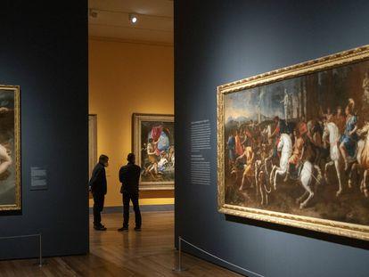 """Exposicion """"Pasiones mitologicas: Tiziano, Veronese, Allori, Rubens, Ribera, Poussin, Van Dyck, Velazquez"""" en el Museo del Prado."""