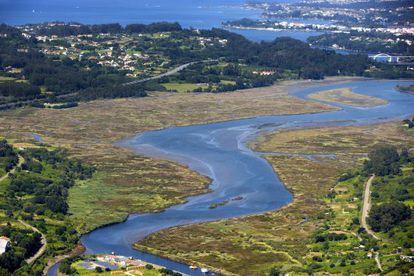 La Ría de Betanzos que forma parte de As Mariñas