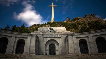 Explanada del Valle de los Caídos, en San Lorenzo de El Escorial (Madrid).