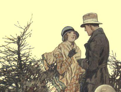 Imagen de la portada de 'La señorita Dashwood'.