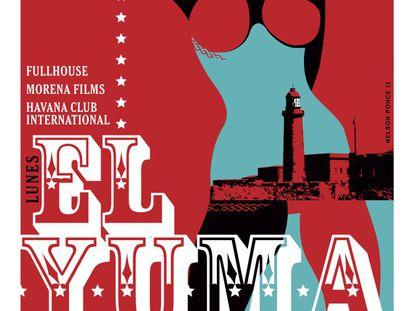 Cartel del primer capítulo de '7 días en La Habana', 'El Yuma', dirigido por Benicio del Toro,